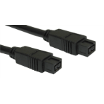 Cables Direct CDLIEE-1402 FireWire cable 9-p Black 2 m
