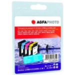 AgfaPhoto LC980/1100 Black, Cyan, Magenta, Yellow 4 pc(s)