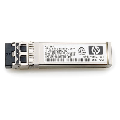 Hewlett Packard Enterprise C-series 10GbE SR SFP+ network transceiver module Fiber optic 10000 Mbit/s SFP+ 850 nm