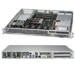 Supermicro 1028R-WMR Intel® C612 LGA 2011 (Socket R) Rack (1U) Grey