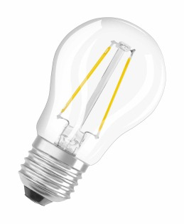 Osram LED Retrofit CL P 1.2W E27 A++ Warm white LED bulb