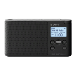 Sony XDR-S41D Portable Digital Black radio