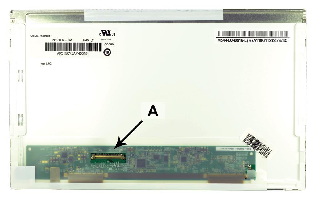 2-Power 10.1 WSVGA 1024x600 LED Matte Screen - replaces N101L6-L01