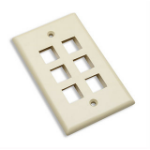 Intellinet 162968 outlet box Ivory