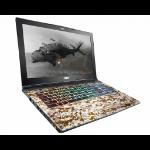 "MSI Gaming Ge62vr 7rf-688uk Camo Squad Limited Edition Notebook Black 39.6 cm (15.6"") 1920 x 1080 pixels 7th gen Intel® Core™ i7 16 GB DDR4-SDRAM 1256 GB HDD+SSD NVIDIA® GeForce® GTX 1060 Wi-Fi 5 (802.11ac) Windows 10 Home"
