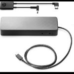 HP USB-C Universal Dock w/4.5mm Adapter Wired USB 3.2 Gen 1 (3.1 Gen 1) Type-C Black