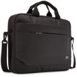 "Case Logic Advantage ADVA-114 Black notebook case 35.6 cm (14"") Messenger case"