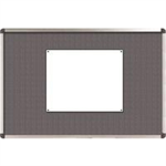Nobo Classic Felt Noticeboard Grey 1200x900mm