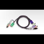Aten USB KVM Cable Black 3m