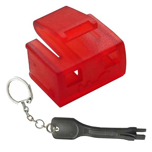 Cablenet RJ45 Security Block + Tool Red (PK 25)