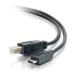 C2G USB 2.0, C - Standard B, 4m cable USB USB C USB B Negro