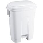 FSMISC 60 LITRE WHITE PLASTIC BIN 348011 1