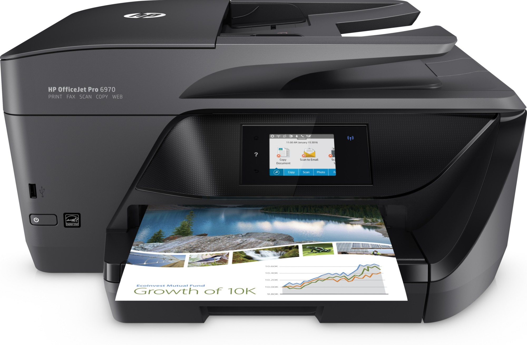 HP OfficeJet Pro 6970 AiO 600 x 1200DPI Thermal Inkjet A4 20ppm Wi-Fi