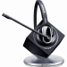 Sennheiser DW Pro 1 PHONE Monaural Ear-hook,Head-band Black,Silver headset