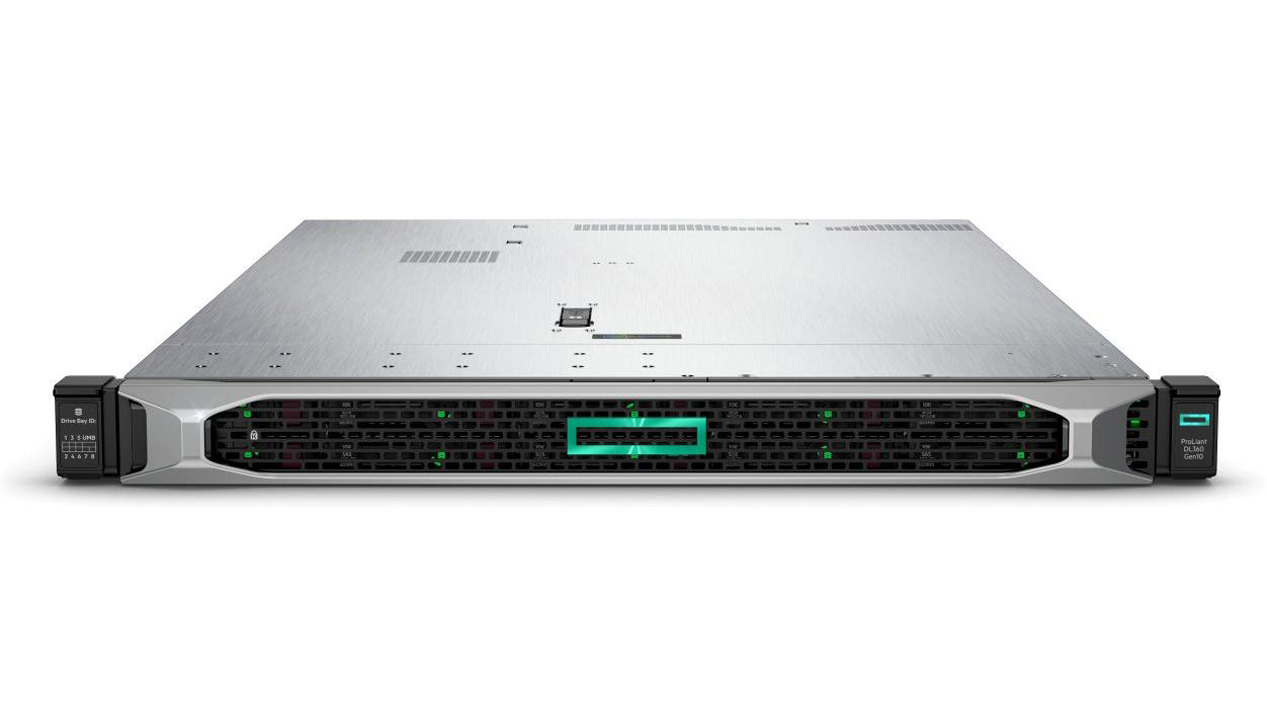 Hewlett Packard Enterprise ProLiant DL360 Gen10 server Intel Xeon Silver 3.2 GHz 32 GB DDR4-SDRAM 22 TB Rack (1U) 800 W