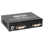 Tripp Lite 2-Port Dual Display DVI over Cat5 / Cat6 Extender Splitter, Video Transmitter, 1920 x 1080 at 60Hz, Up to 60.96 m (200-ft.)