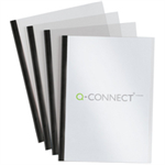 Q-CONNECT SLIDE BINDER/COVER KITS BLK P20