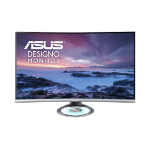 "ASUS MX32VQ computer monitor 80 cm (31.5"") 2560 x 1440 pixels Wide Quad HD LED Black, Gray"