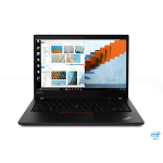 "Lenovo ThinkPad T14 Notebook 35.6 cm (14"") 1920 x 1080 pixels 10th gen Intel® Core™ i7 16 GB DDR4-SDRAM 512 GB SSD Wi-Fi 6 (802.11ax) Windows 10 Pro Black"