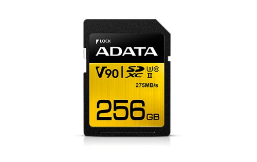 ADATA Premier ONE V90 256GB SDXC UHS-II Class 10 memory card