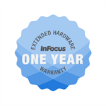 INFOCUS Hardware warranty plan; 65 Jto uch; 1 year