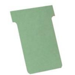 Nobo T-Cards A80 Size 3 Light Green (100)