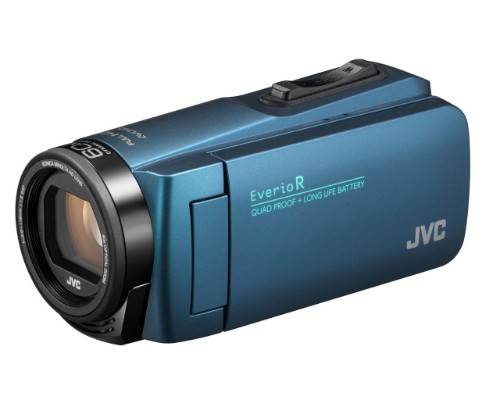 JVC GZ-R495A 2.5 MP CMOS Handheld camcorder Blue Full HD
