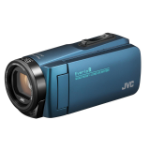 JVC GZ-R495A 2.5 MP CMOS Handheld camcorder Blue Full HD