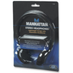 Manhattan Stereo Headphones Black Circumaural headphone