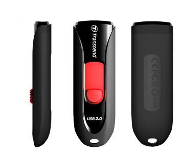 Transcend JetFlash 590 32GB USB flash drive USB Type-A 2.0 Black