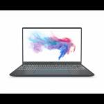 """MSI Prestige 14 A10SC-030UK Notebook 35.6 cm (14"""") 1920 x 1080 pixels 10th gen Intel® Core™ i7 16 GB LPDDR3-SDRAM 512 GB SSD NVIDIA® GeForce® GTX 1650 Max-Q Wi-Fi 6 (802.11ax) Windows 10 Home Grey"""