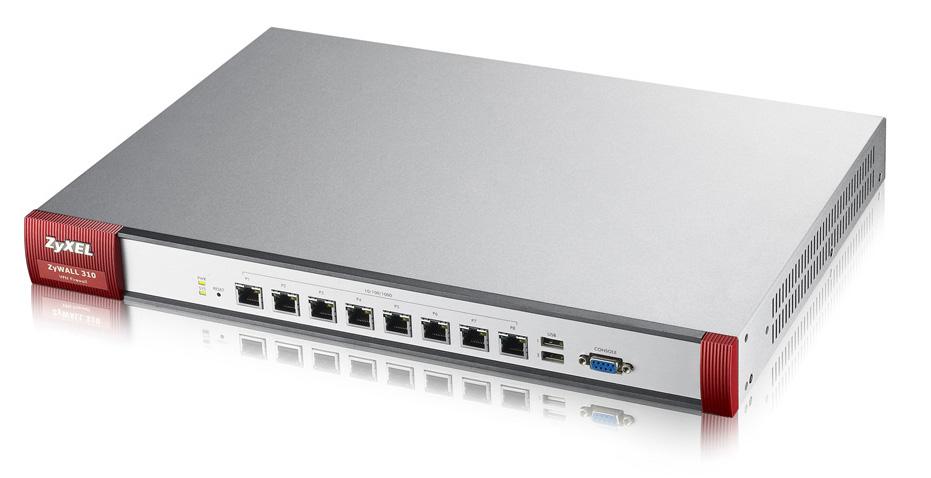 Zyxel ZyWALL 310 cortafuegos (hardware) 2000 Mbit/s