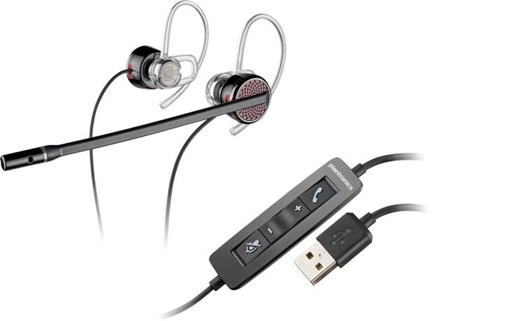Plantronics Blackwire C435 Binaural Ear-hook Black headset