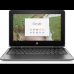 "HP Chromebook x360 11 G1 EE 1.10GHz N3350 Intel® Celeron® 11.6"" 1366 x 768pixels Touchscreen Black Chromebook"