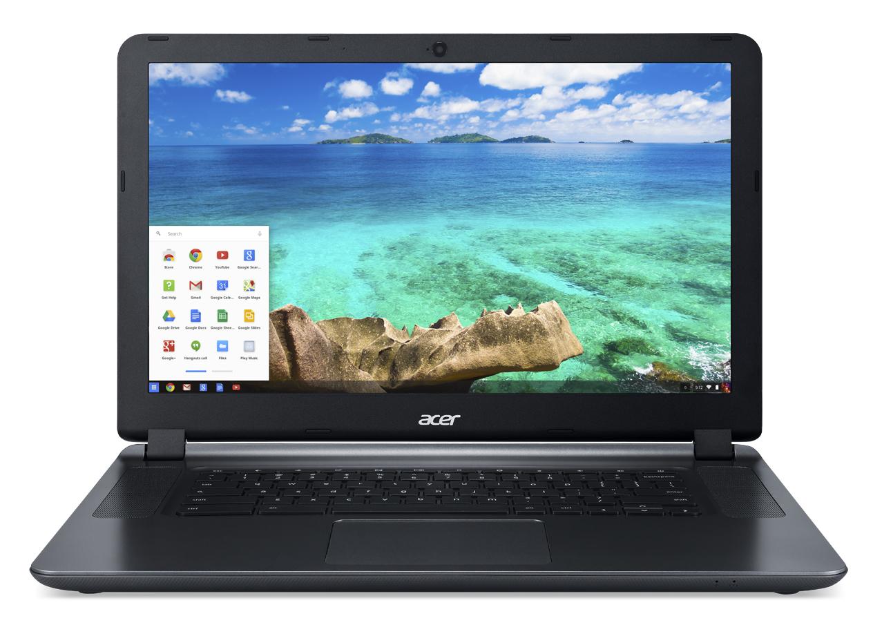 "Acer Chromebook 15 CB3-532-C1ZK 1.6GHz N3160 15.6"" 1920 x 1080pixels Grey Chromebook"