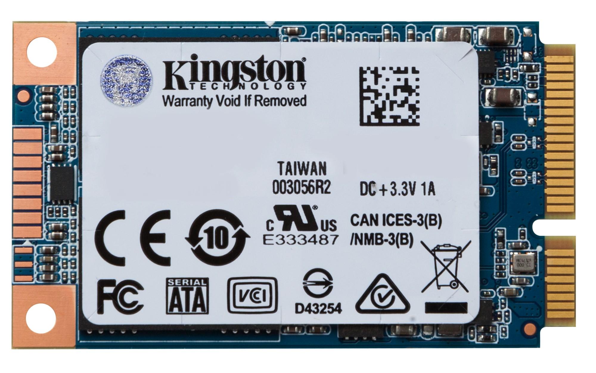 Kingston Technology UV500 240GB mSATA Serial ATA III