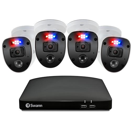 Swann SWDVK-846804SL video surveillance kit Wired 8 channels