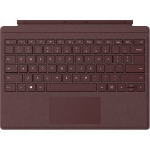 Microsoft Signature Type Cover mobile device keyboard QWERTY Burgundy Microsoft Cover port