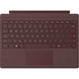 Microsoft Surface Pro Signature Type Cover mobile device keyboard QWERTY Burgundy Microsoft Cover port