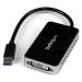 StarTech.com USB 3.0 to DVI External Video Card Multi Monitor Adapter with 1-Port USB Hub – 1920x1200