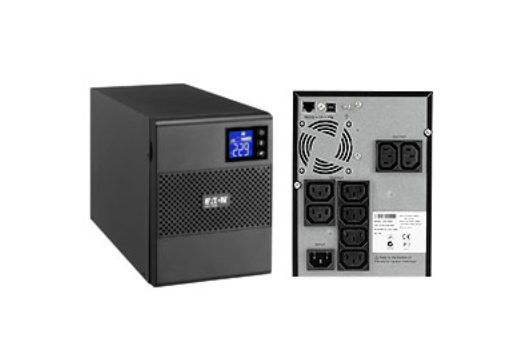 Eaton 5SC1000i 1000VA 8AC outlet(s) Tower Black uninterruptible power supply (UPS)