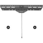 """StarTech.com TV Muurbeugel voor Gipswand Heavy Duty VESA TV Beugel voor 80"""" Scherm (max 50kg) Universele TV Ophangbeugel Kantelbare Televisie Muursteun voor Holle en Volle Wand"""