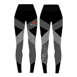 Sony Playstation Tech Seamless Legging, Female, Extra Large, Black (LG283606SNY-XL)