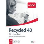 Nobo Flipchart Pad Recycled 40 sheets ( A1)