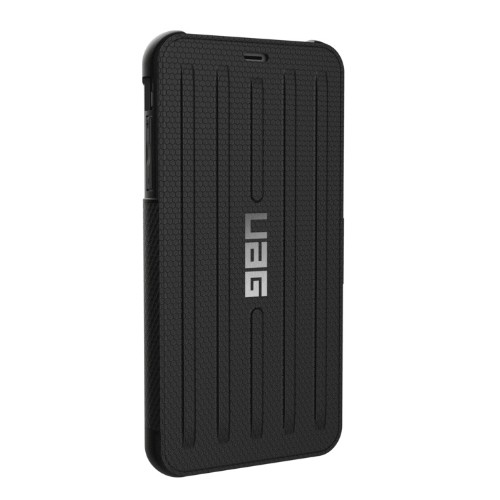 "Urban Armor Gear Metropolis mobile phone case 16.5 cm (6.5"") Folio Black"