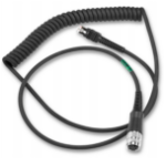 Zebra CBA-RF4-C09ZBR handheld device accessory Charging cable Black