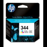 HP 344 Origineel Cyaan, Magenta, Geel 1 stuk(s) Normaal rendement