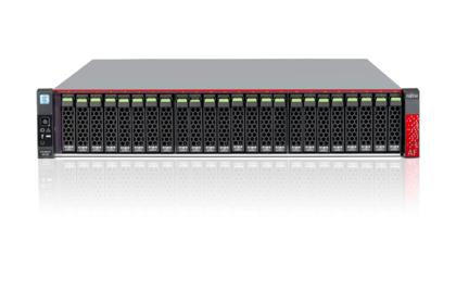 Fujitsu ETERNUS AF250 Rack (2U) Black disk array