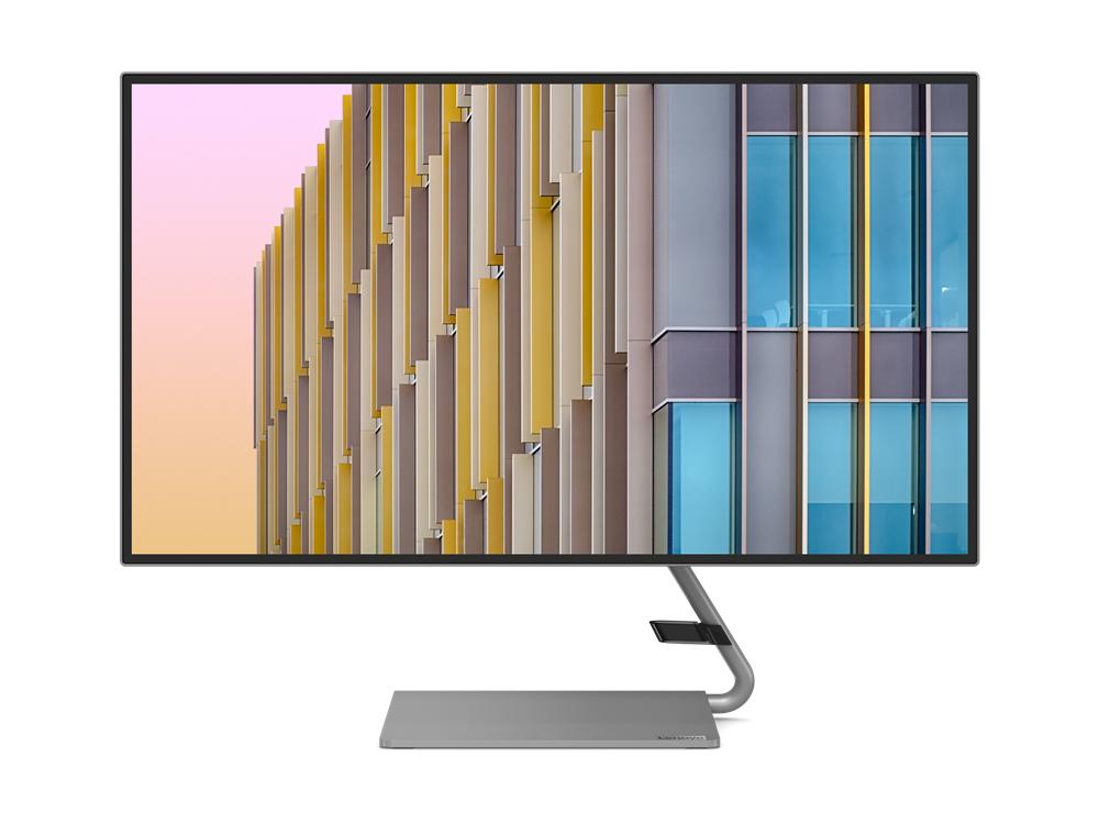 """Lenovo Q27h-10 68,6 cm (27"""") 2560 x 1440 Pixeles WQHD LED Gris"""