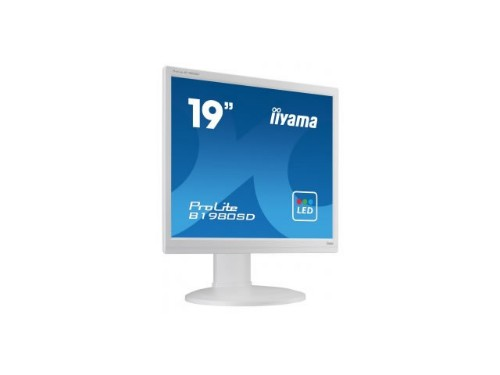 "iiyama ProLite B1980SD-W1 19"" LED Matt Flat White computer monitor LED display"